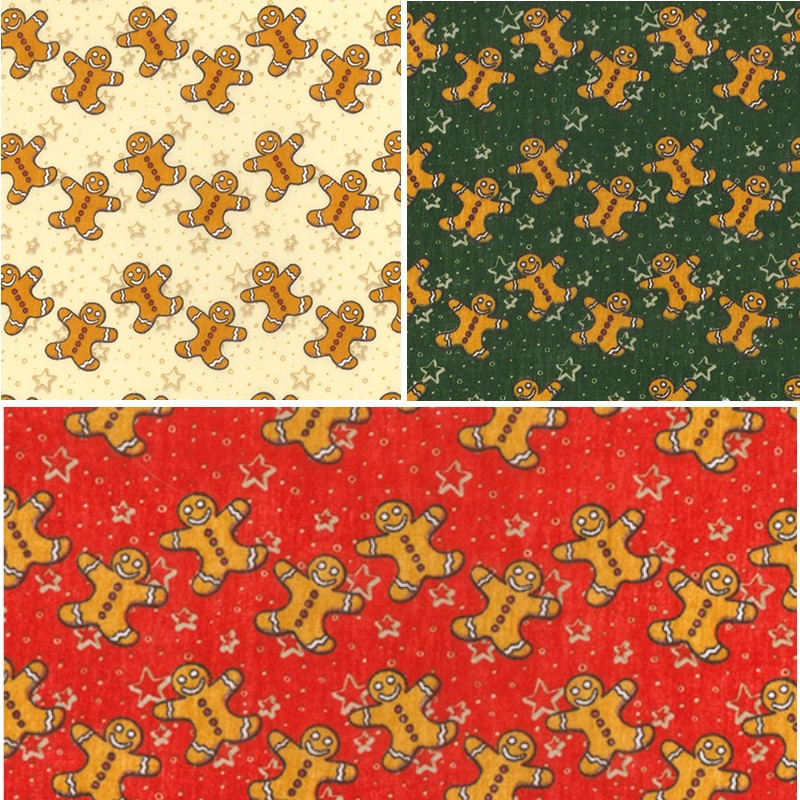 Polycotton Fabric Christmas...