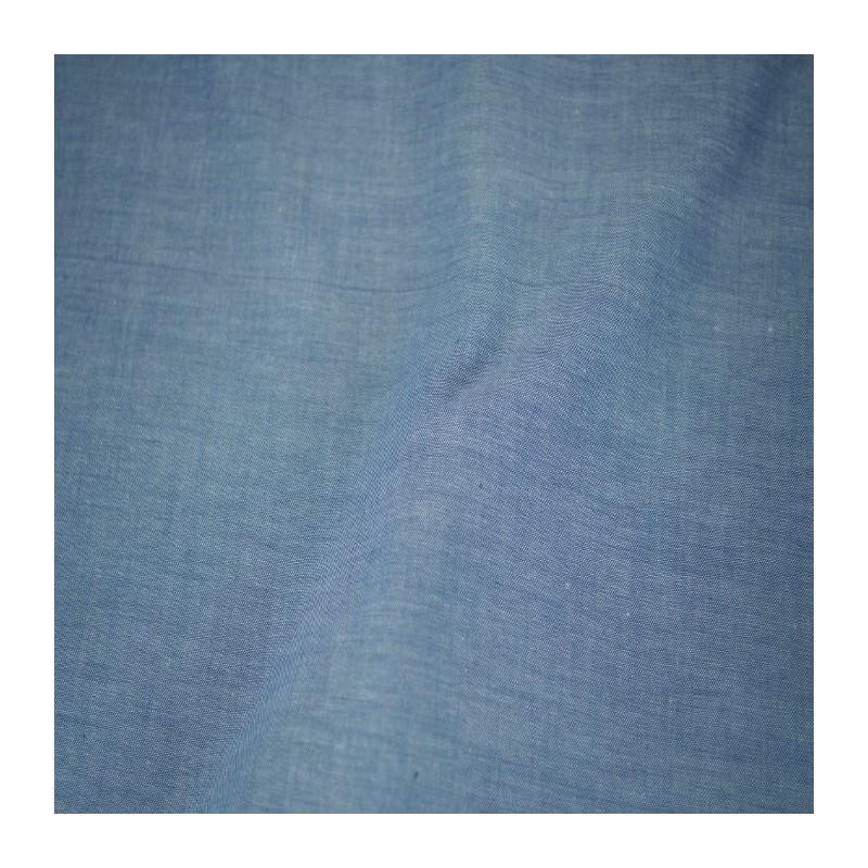 Chambray 100% Cotton Fabric Shirt And Dress