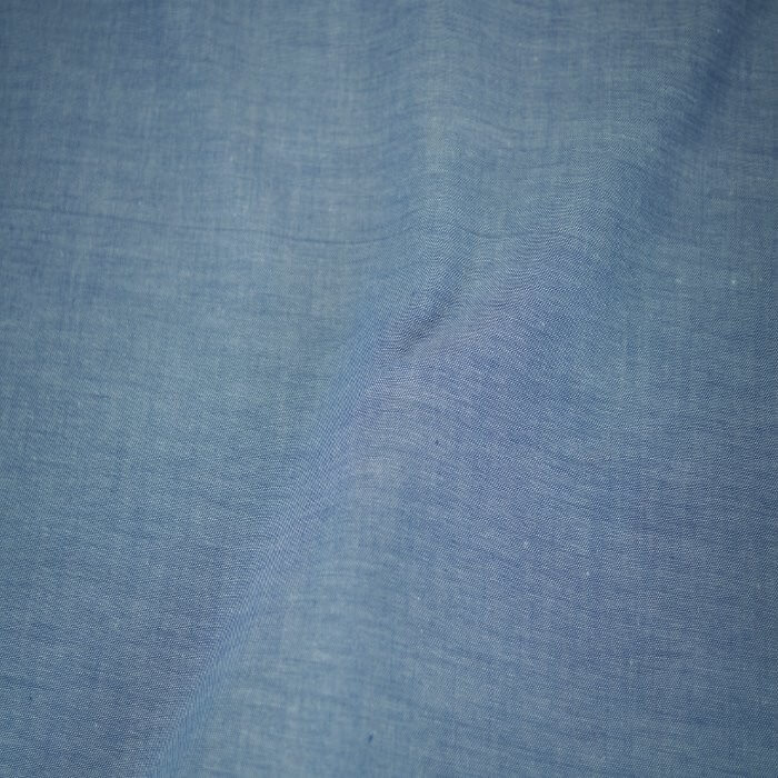 Chambray 100% Cotton Fabric Shirt And Dress