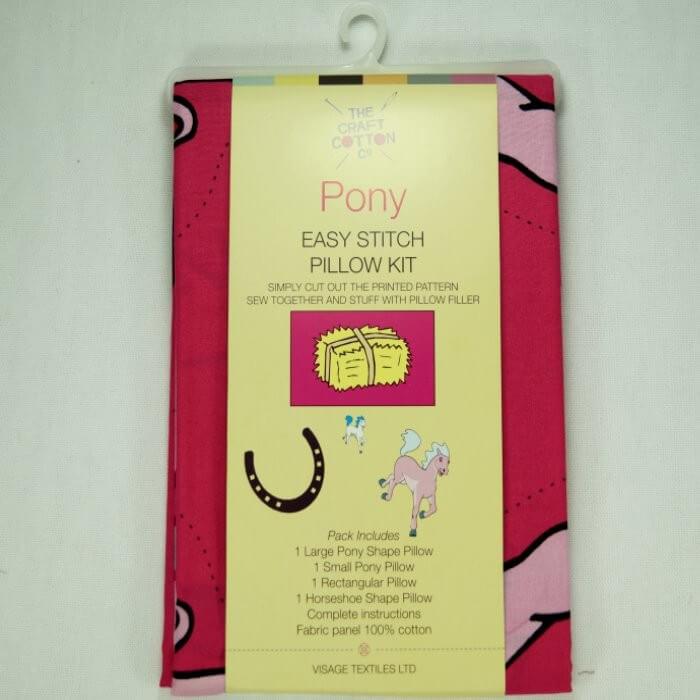 Pony Easy Stitch Pillow Kit...