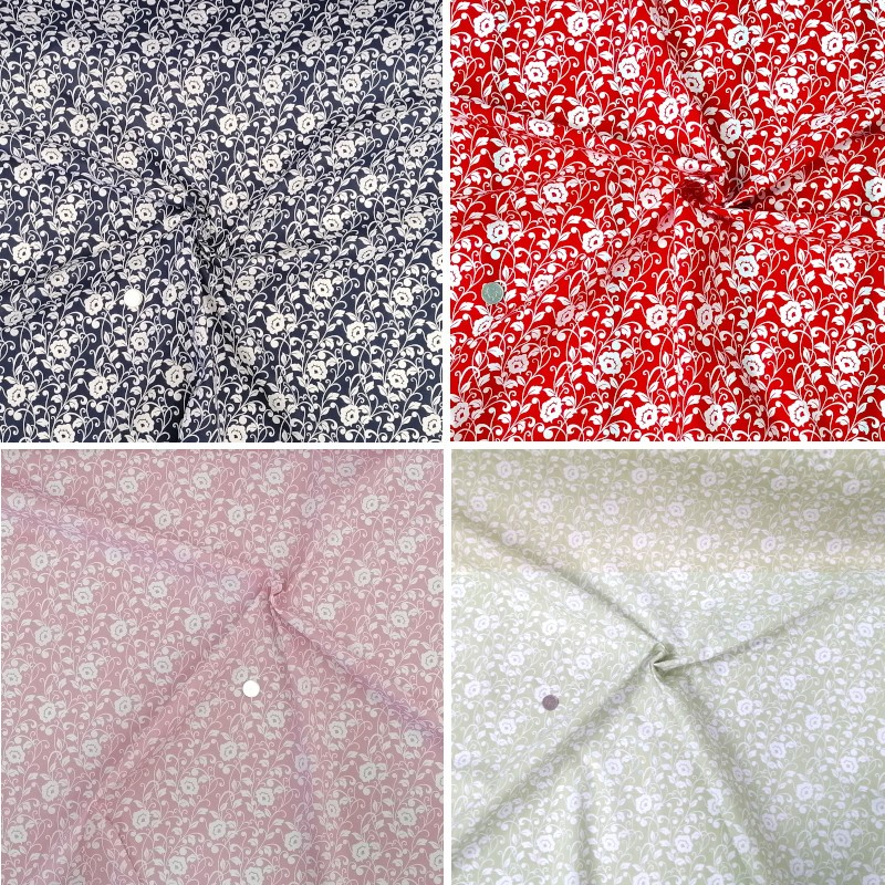 Polycotton Fabric Plumpton...