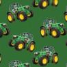 100% Cotton Fabric Kennard & Kennard Tractors Farm Farmer
