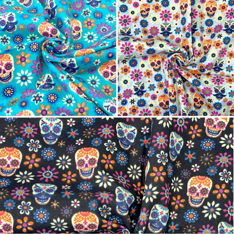 Polycotton Fabric Mexican...