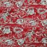100% Japanese Cotton Fabric Nutex Shina Dragons Metallic Oriental Dragon Waves