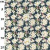 100% Cotton Fabric John Louden Lily Daffodil Floral Flower Bouquet 150cm Wide