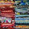 100% Cotton Fabric Surprise Variety Bundle Fat Quarters Floral Novelty
