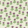 100% Cotton Fabric Nutex Scottish Thistle Scotland Floral