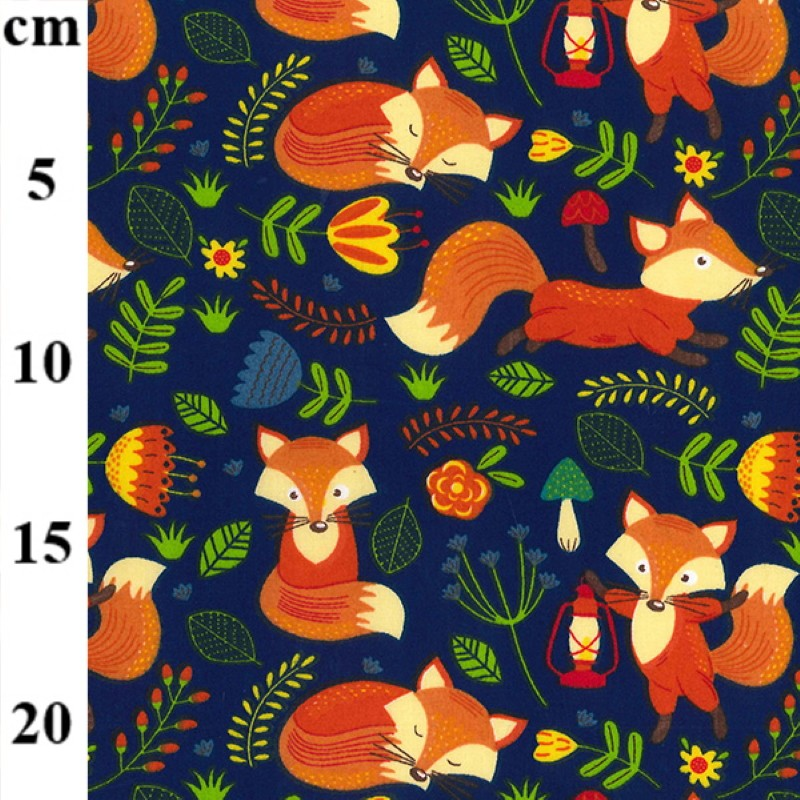Polycotton Fabric Bright...