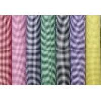 gingham polycotton fabric